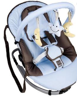 Le modèle transat pour bébé à 5 points